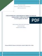 Changements Climatiques Et Impacts Sur Les Infrastructures Routieres Cas Du Gharb(1)