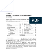 Surface Chemistry in the Petroleum Industry