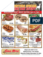 Save More Hunters One Day Sale 2014