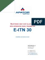 E-ITN30 Manual En
