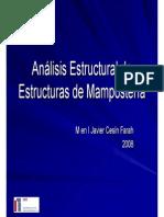 analisis estructural de Mamposteria_analisis