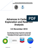 Advanced in Carbonate Exploration and Reservoir Analysis