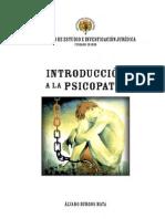 Introduccion a La Psicopatia - Alvaro Burgos Mata