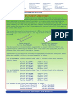 01j Clutch Bulletin
