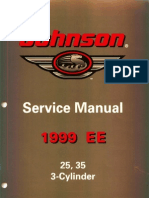 1999.EE.johnson.25.35.3 Cylinder.outboards.service.manual