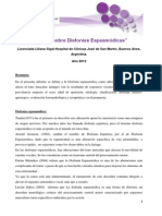 Informe Sobre Disfonías Espasmódicas (1)