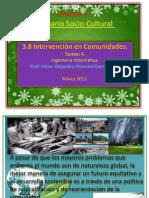 intervencion de las comunidades
