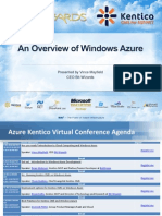 An Overview of Windows Azure