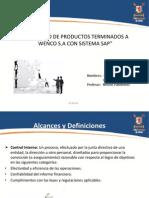 Inventario por SAP