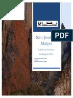Cajón del maipo - Geología