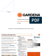 Gardena US Entry Strategy