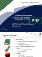 Documentación para Control e Instrumentación basados en normas ISA