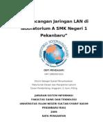 perancangan jaringan labolatorium SMKN 1 Pekanbaru