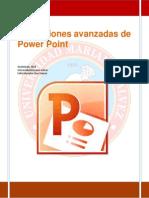 aplicaciones avanzadas de power point