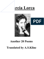Garcia Lorca - Another 20 Poems