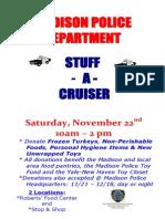 Stuff-A-Cruiser Flyer 2014 POSTER