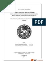 Karya Tulis Ilmiah Mahasiswa Bid. Pendidikan (PPMP)