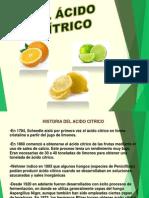 trabajo - el acido citrico