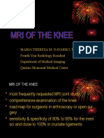Mri of the Knee and Common Pathologies