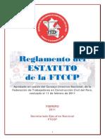 Reglamento ddsfdsfdse ESTATUTO 11.02.2011
