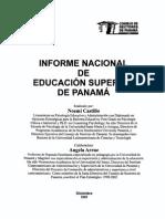 informe nacional sobre la educ s en panam