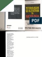 Haguette Teresa Metodologias Qualitativas Na Sociologia