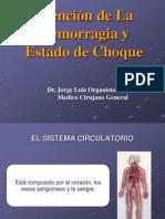 Atención de la Hemorragia y Estado de Choque