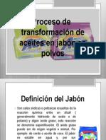 proceso para la elaboración del jabon