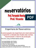 Reservatórios Joao Vicente e Fernando Henrique
