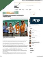 06-11-14 Entregan 121 Mil Títulos Agrarios a Ejidatarios Del País - El Reportero