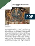 Pantocrator San Clemente de Tahull