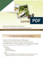 Center for Carolina Living In-Migration