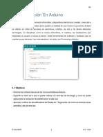 4. Programación en Arduino