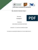 Principales indicadores macroeconomicos