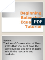 beginning balancing equations 2014