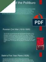 creation of the politburo 1917 pptx 1