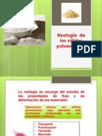 Reología De Los Sólidos Pulverulentos