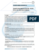 Datación Mediante Racemización Del Ácido Aspártico en Dentia Humana