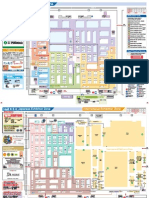 Plano de La Feria Foodex Map2014