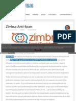 Antispam en Zimbra