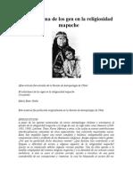 El Subsistema de Los Gen en La Religiosidad Mapuche