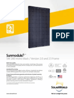 Sunmodule Solar Panel 240 Mono Black Ds