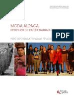 Analisis de los perfiles de empresarias peruanas respecto al sector textil