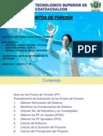 PUNTOS DE FUNCION