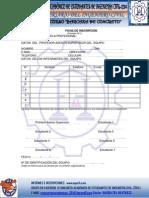Fichas de Inscripcion, Barcaza