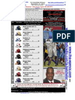 """INSIDE THE HBCU HUDDLE"" - Dr. Cavil1's 2014 HBCU Football Rankings-Week 12"