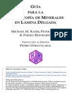 Guía para la microscopía de minerales en lámina delgada