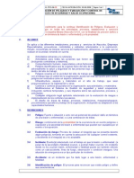 CMA-PRO-06-05 Identificación de Peligros y Evaluación y Control de Riesgos