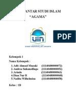 Cover Pengantar Studi Islam
