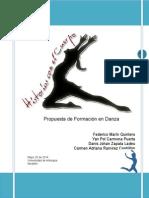 Trabajo de Pedagogía de La Danza